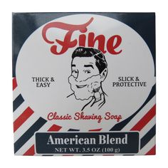Fine Classic Shaving Soap combines the unbeatable lather of a renowned triple milled, old-world, tallow formula, with the most beloved masculine fragrances of all time.