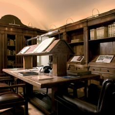 The library at our accommodation.  It has ancient scripts, you could spend hours in here and discover so much history.