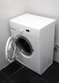 Pesukoneisiin voi myös kerääntyä epäpuhtauksia. Yksi on vedenpehmentimenä käytetty zeoliitti.