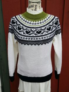 H hobbyside: Mariusgenser i str S Style Norvégien, Christmas Sweaters, Diy And Crafts, Knitting, Pattern, Vests, Clothes, Cardigans, Barn