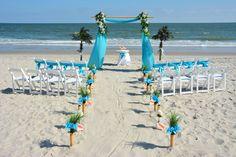 #beach #wedding #ceremony