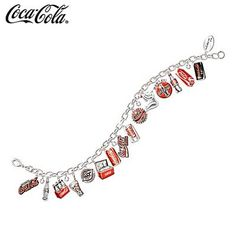 The Bradford Exchange The Ultimate COCA-COLA Through The Years Charm Bracelet by The Bradford Exchange... I want this, I just might have to order it!