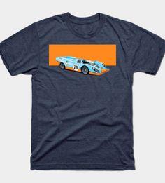 Porsche 917 T-Shirt by spazz27 via TeePublic