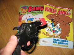 Serier; Bamse och Kalle Anka (Seriemördare ;-)