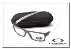 Oakley currency sunglasses matte black / white / clear iridium