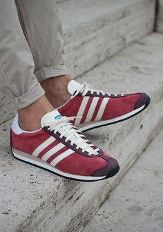 26b9e193cf67df adidas Originals Country OG  Red