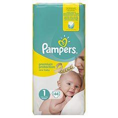 Pampers – New Baby – Couches Taille 1 (2-5 kg/Nouveau-Né) – Pack Géant – Lot de 2 (x88 couches)