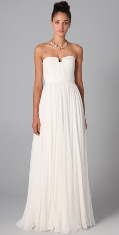 This dress by Reem Acra is so beautiful, classy and elegant! from @Shopbop