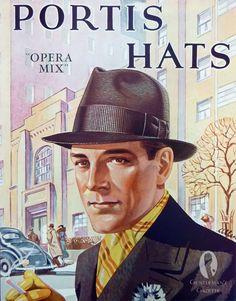 1930s Fashion Ads & Hats — Gentleman's Gazette