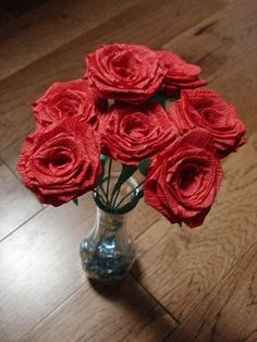 Folding Trees � Guest Feature: Crepe Paper Roses