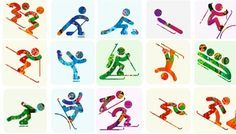 2014 Winter Olympics pictogram