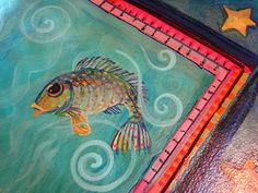 Painting It: floorcloth