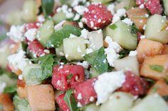 Refreshing salad from @FSLosAngeles #Healthy #CelebEats