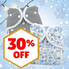 30% Off Select Thirsties Cloth Diapers