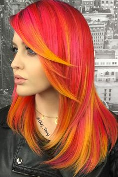 Done by Guy Tang. I don't ever get to do Orange, Greens, or Yellows, so this is inspiring!