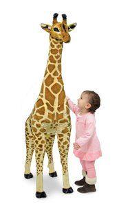 Grote knuffel giraffe Melissa and Doug