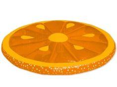 Orange Slice Floating Pool Island