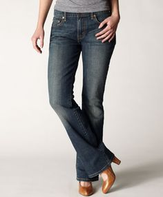 "Have a pair of Levis 515 bootcut, want this ""Vintage Frost"" color - they look good on ehm...moms and they have TALL!"