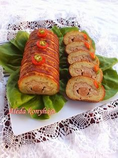 Hungarian Recipes, Baked Potato, Sushi, Rolls, Food And Drink, Appetizers, Menu, Tasty, Lunch