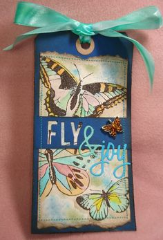 My stuff, my life: Fly & Joy (Tim Holtz' 12 Tags of 2015 - April)...