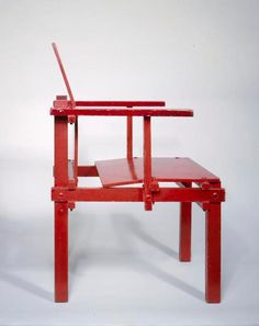 Building a Gerrit Rietveld Chair: February 2012