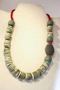 Recycled Glass Bead Necklace #fairtrade #worldpeaces