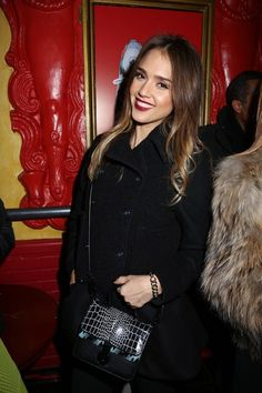 Jessica Alba at the Kenzo party  Photo by François Goizé