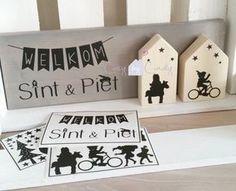 Leuke DIY stickers. Maak zelf leuke Sinterklaas decoratie.
