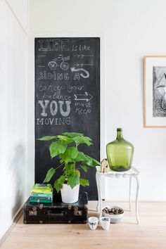 Chalk board   Styling Sabine Burkunk   Photographer Hans Mossel   vtwonen September 2014