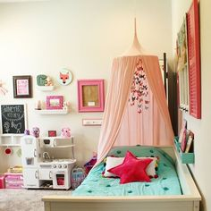 I'm keen on this eye-catching toddler girls room – Girls Room 2020 House Joy, Girls Bedroom, Bedroom Decor, Bedroom Ideas, Girls Room Organization, Fantasy Bedroom, Little Girl Rooms, Room Inspiration, Kids Room