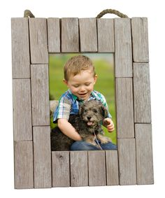Stonebriar Collection  Driftwood Frame by Stonebriar Collection  #zulily #zulilyfinds