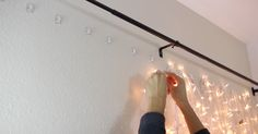 She Puts Up Christmas Lights Behind Her Bed. When The Camera Zooms Out – Jaw-Dropping