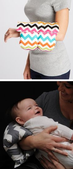 Comfy Cradle // cuddle support pillow for mama and little one #baby_shower_gifts