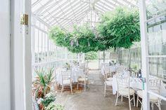 Conservatory tables  Wedding St Julians Club  whitestagweddings.com