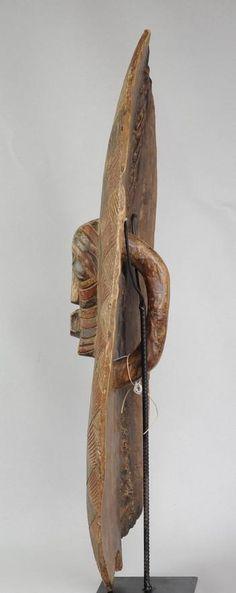 Grand bouclier Songye Kifwebe Congo RDC Basongye shield - MC0471