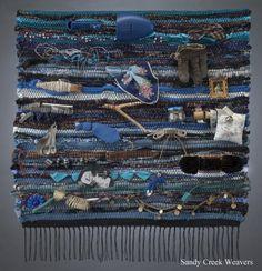 Blue Memorial Weaving