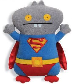 Babo Superman Ugly Doll: it is cool and has a lot of detail. But I think that the material looks bad. if I made it I would do a different colour