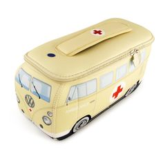 Campervan Gift Ltd - VW Ambulance Campervan Universal Neoprene Wash Bag, (https://www.campervangift.co.uk/vw-ambulance-campervan-universal-neoprene-wash-bag/)