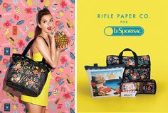 Rifle Paper Co. for LeSportsac Spring 2015
