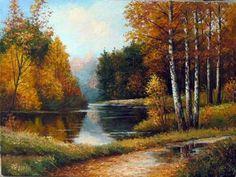 Художественная галерея. Живопись. Осень - ИЗО 4 класс