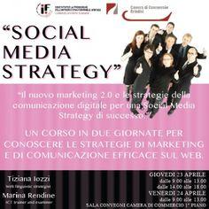 Social Media Strategy: alla Camera di Commercio di Brindisi un seminario il 23 e 24 aprile   Brundisium.net – Brindisi