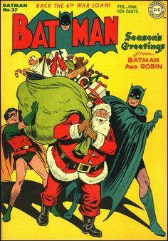 Batman #27, February 1945 {Cover art by Jack Burnley}