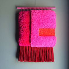 Woven Wall Hanging / Geometric Landscape n. 4 // by jujujust, on Etsy