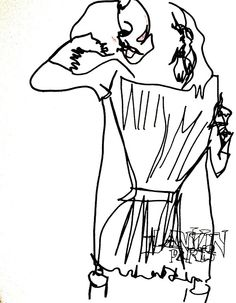 belle BRUT sketchbook: #Lanvin #fashion #style #illustration #blindcontour © belle BRUT 2014  http://bellebrut.tumblr.com/post/93745656495/belle-brut-sketchbook-lanvin-fashion-style