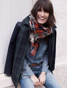 Caroline de Maigret   Madewell Fall 2013