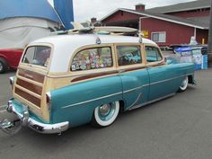 You could use Furniture Polish to make it like new. Station Wagon, Surf Rods, Chevy Nomad, Woody Wagon, Classic Pickup Trucks, Vintage Surf, Chevrolet Bel Air, Hot Cars, Custom Cars
