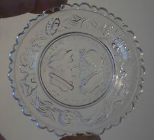 Pairpoint Cup Plate The Wedding Day and 3 Weeks After RARE