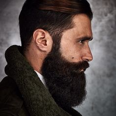 Cool and gentle full beard styles 20 - Fashionetter Epic Beard, Full Beard, Badass Beard, Great Beards, Awesome Beards, Beard Styles For Men, Hair And Beard Styles, Moustaches, Hairy Men