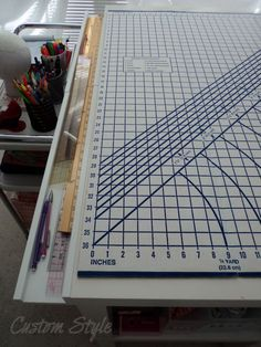 Ruler-Tray - great idea!