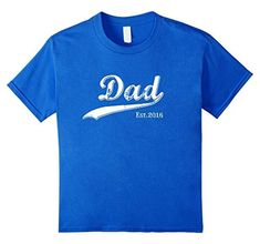 Dad Est. 2016 T Fathers Day Gift for New Daddy gift T-Shirt